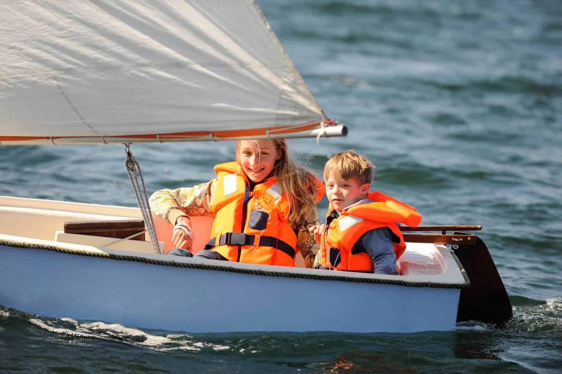 Family sailing holidays in Cornwall